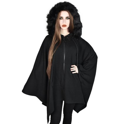 Langer Gothic Hoodie Cape Enchanter